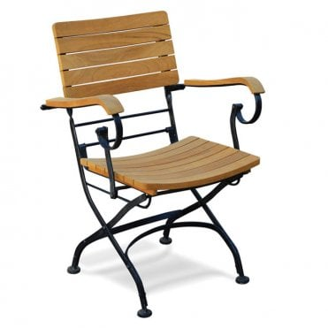 Terrace Teak Folding Armchair