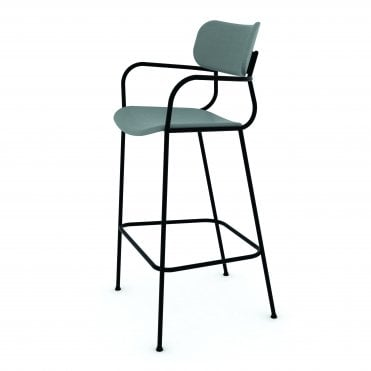 Kiyumi Upholstered Bar Stool