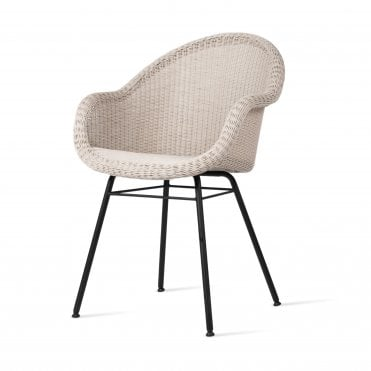 Edgard Side Chair - Steel Base