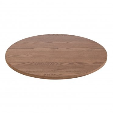 Solid Ash Table Top - Polished Oak