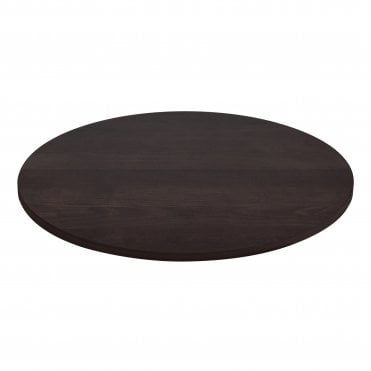 Solid Ash Table Top - Polished Walnut