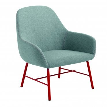 Myra Lounge Chair - Metal Legs