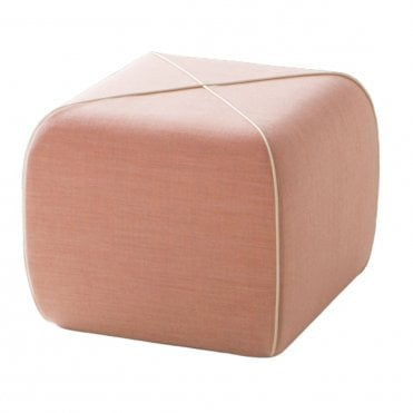 Crossed Pouf