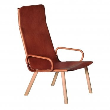 Ply Lounge Chair with Arms