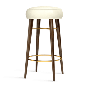 Louis Backless Bar Stool