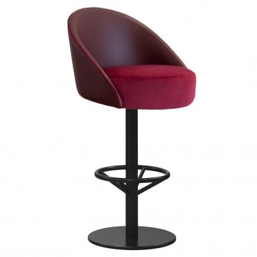 Beatrice Central Pedestal Bar Stool