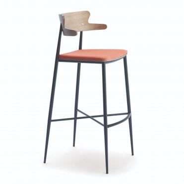 Zaira Bar Stool With Arms