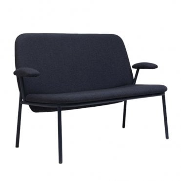 Lana Steel High Back Sofa with Arms