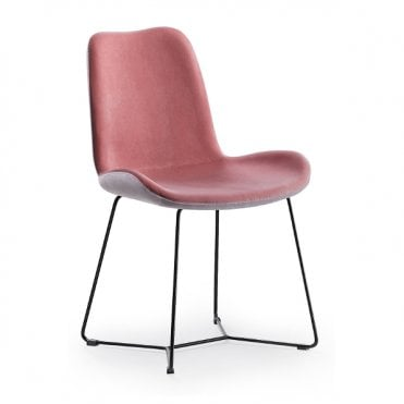 Dalia Side Chair Skid Base