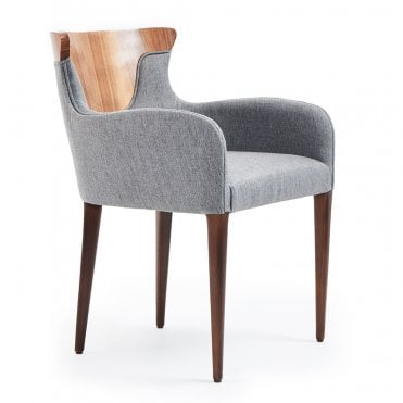 Cross Wood Armchair