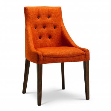 Nina Buttoned Back Side Chair