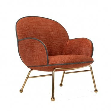 Round Lounge Armchair