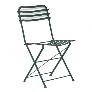 Bistro Metal Folding Side Chair