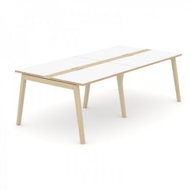 Versa Wood Meeting Table