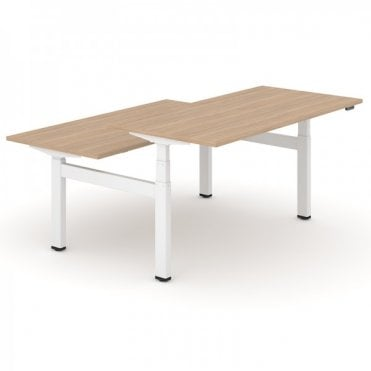 Electra Straight Back Top Desk Double