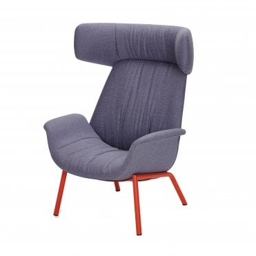 Ila High back Lounge Chair