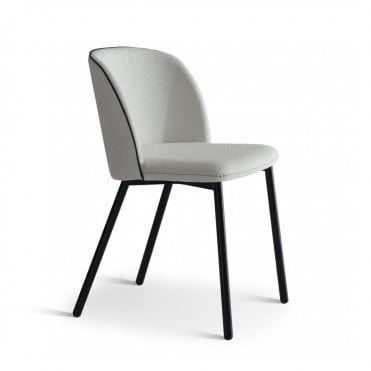 Bold Metal Side Chair