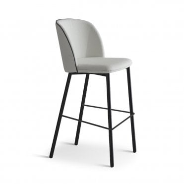 Bold Metal Bar Stool
