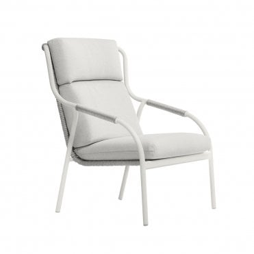 Capri High Back Lounge Chair