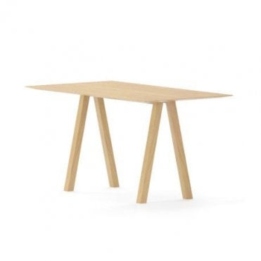Trestle Poseur Height Desk