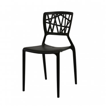 Webb Black Side Chair