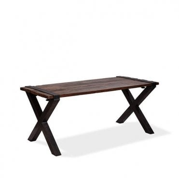 Old Dutch Low Table X-Frame