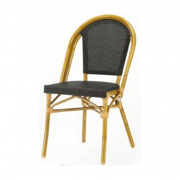 220 Alu Side Chair