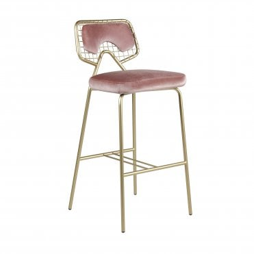 Planet Upholstered Bar Stool