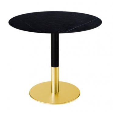 Slim Brass Round Table Base
