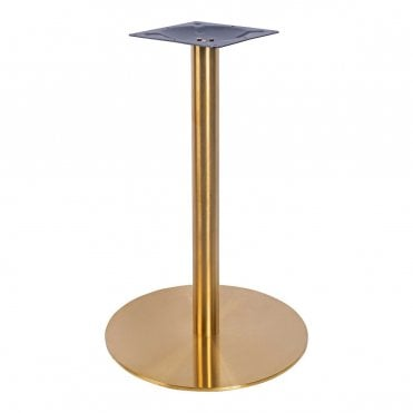 Zeus Brass Dining Table Base