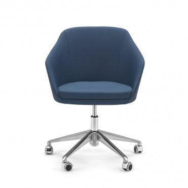 Annette Armchair with Castors