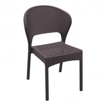 Daytona Outdoor Rattan Side Chair