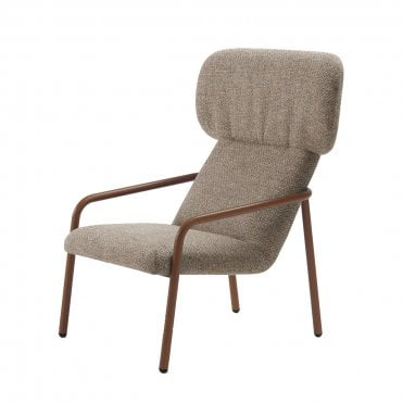Elle Wing Open Chair