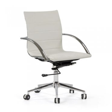 Urban Low Back Swivel Armchair