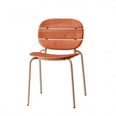 Si-si Wooden Outdoor Side Chair