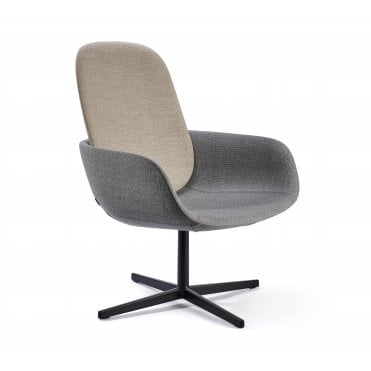 Peb High Back Lounge Chair