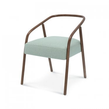 Plum Open Armchair