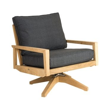 Roble Swivel Lounge Chair