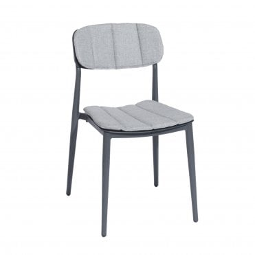 Rimini Side Chair with Cushions
