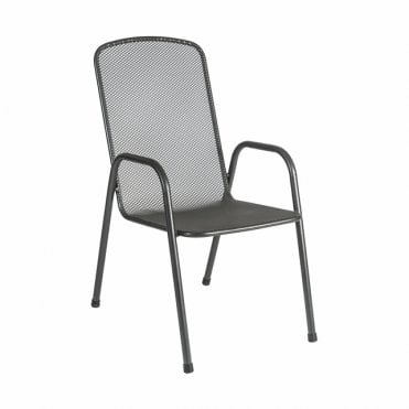 Portofino High Back Stacking Armchair