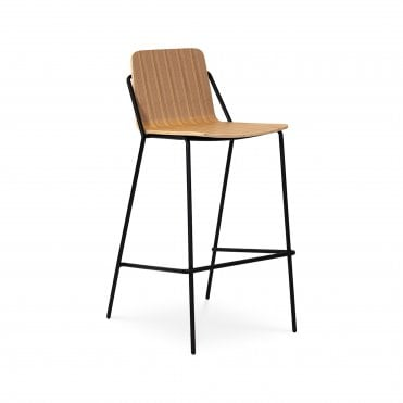 Sling High Un Upholstered Barstool