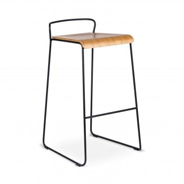 Transit Un Upholstered High Stool