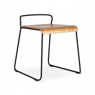 Transit Un Upholstered Low Stool