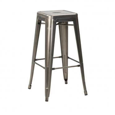 French Bistro Backless Barstool