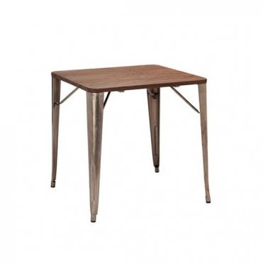 French Bistro Square Table