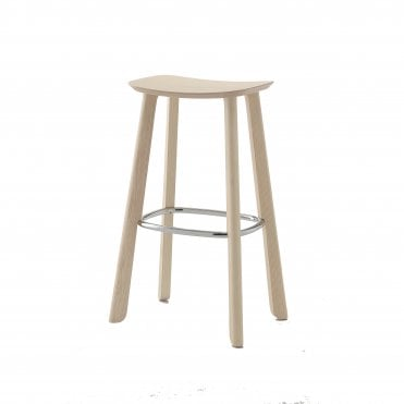 Ally Stool - Wooden Seat