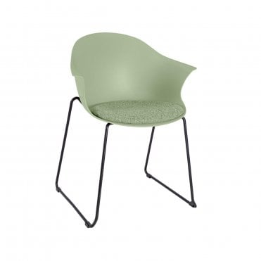 Vivid Skid Base Armchair