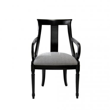 Carin Open Back Armchair
