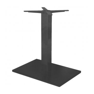 Hugo Oblong D3 table base - Black