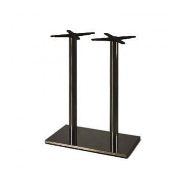 Hugo Oblong (RC) Twin D4 table base - Black